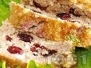 Рецепта Месно руло със свинска кайма и вишни